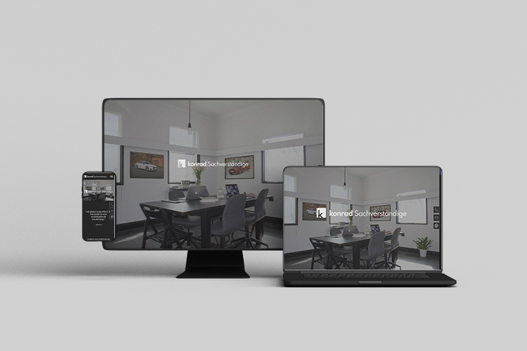 Konrad Sachverständige - Webdesign Bergauf Media