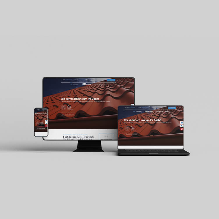 MT Dachbau - Webdesign Bergauf Media