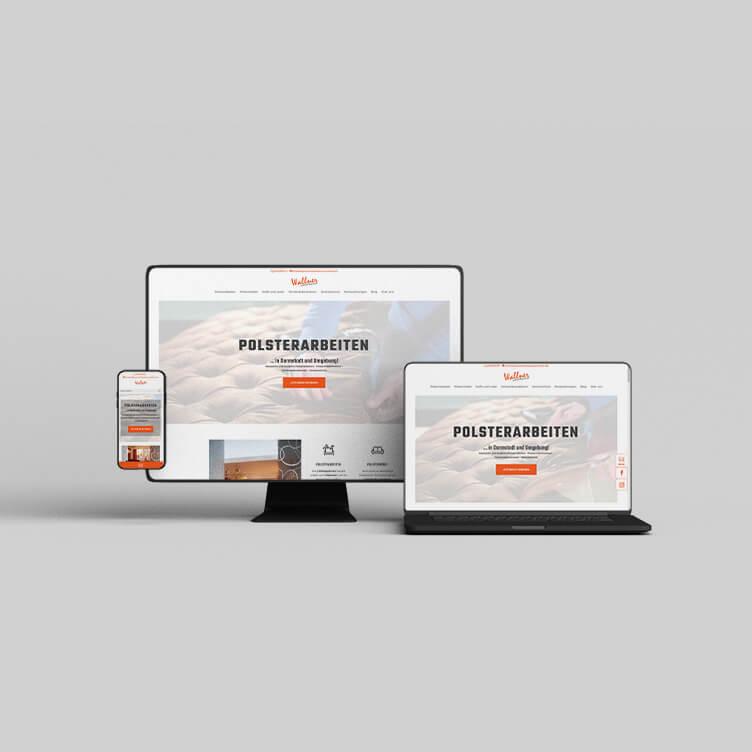 Raumausstattung Wallner - Webdesign Bergauf Media